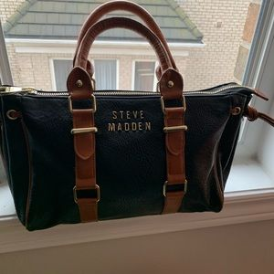 Steven madden brown and black purse